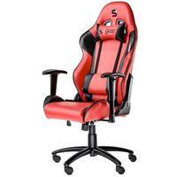 Fotele dla graczy, Fotel dla gracza SilentiumPC Gear SR300 (czerwony)