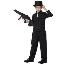 Kostium Gangster dla chłopca - XXL - 152 cm