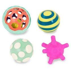 Zestaw wyjątkowych piłek sensorycznych z piłką świecącą - Ball-a-balloos - BTOYS
