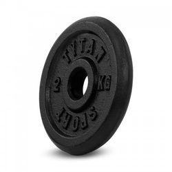Obciążenie żeliwne Tytan Sport 2 kg