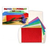 Pozostałe artykuły papiernicze, Papier metalizowany krepowany 6 kolorów C5