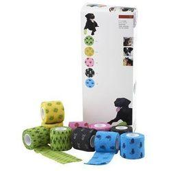 KRUUSE Fun-Flex bandaż elastyczny, mix wzorów i kolorów, 5 cm, 10 szt.
