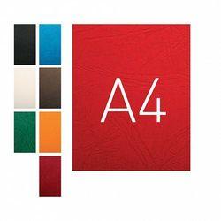 Okładki do bindowania A4 karton skóropodobny O.Universal niebieski 100szt. OPUS