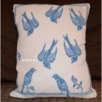 Poszewki, Poszewka na poduszkę, haftowna, wzór mazurski 31x27 (jw-12)