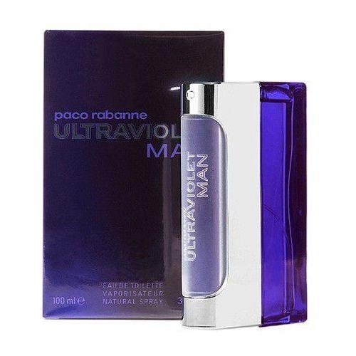 Wody toaletowe męskie, Paco Rabanne Ultraviolet Men 100ml EdT