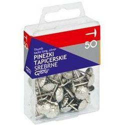 Pinezki tapicerskie Grand 1101483 50szt. srebrne