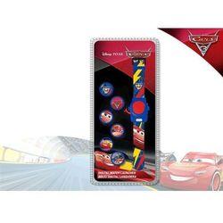 Zegarek na rękę z projektorem 6 obrazków Cars - Auta