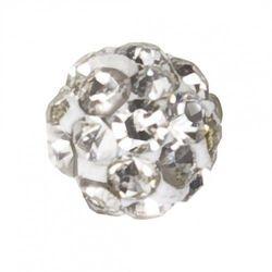 Kolczyki 7522-0304 Kulka z kryształkami