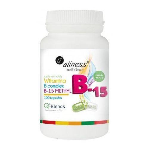 Witaminy i minerały, Aliness - Witamina B15 Methyl - 100caps
