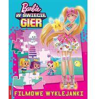 Naklejki, Barbie w świecie gier Filmowe wyklejanki - Praca zbiorowa