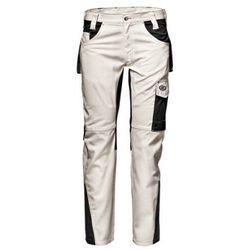 Spodnie do pasa SIR FUSION w kolorze białym