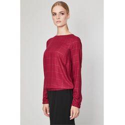 Bluzka w kratkę Angora - Click Fashion
