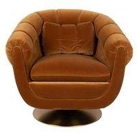 Fotele i krzesła biurowe, Dutchbone Fotel MEMBER OLIVE 3100104