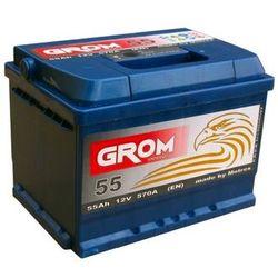 Akumulator GROM Prestige 12V 55Ah/570A EN P niska
