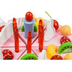 Duży tort urodzinowy do krojenia + świeczki, 37 elementów 889-21A Zabawki - 18% (-14%)