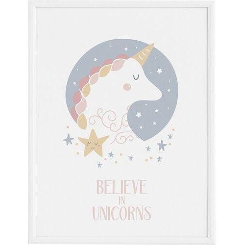 Plakaty, Plakat Star & Unicorn 50 x 70 cm