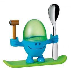 Kieliszek na jajko z łyżeczką WMF niebieski ODBIERZ RABAT 5% NA PIERWSZE ZAKUPY