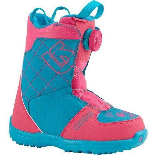 Buty do snowboardu, BURTON - Grom Boa Pink/Teal (656) rozmiar: 1K