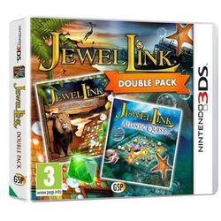 Jewel Link Double Pack - Safari Quest and Atlantic - Nintendo 3DS - Kolekcja