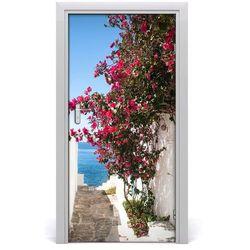 Fototapeta samoprzylepna na drzwi Greckie uliczki
