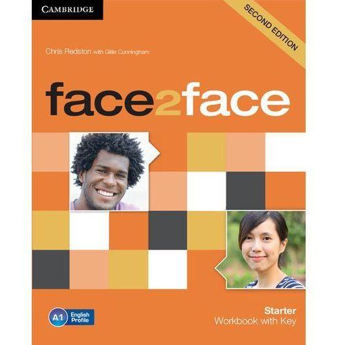 Książki do nauki języka, Face2Face Starter Second Edition. Ćwiczenia z Kluczem (opr. miękka)