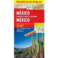 Mapy i atlasy turystyczne, Meksyk 1: 2,5 mln - mapa Marco Polo (opr. twarda)