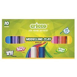 Modelina 10 kolorów CRICCO