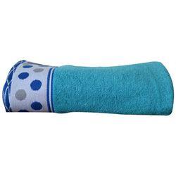 Greno Ręcznik dziecięcy Sharpei 70x125 cm, niebieski