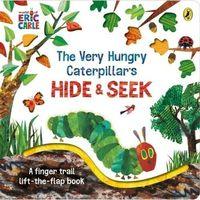 Książki do nauki języka, The Very Hungry Caterpillar?s Hide-and-Seek - Carle Eric - książka (opr. twarda)