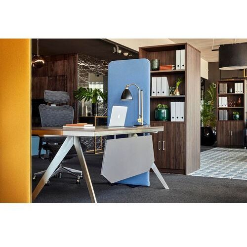 Biurka i stoliki, Biurko z pomocnikiem PLATINUM 18B 180 cm