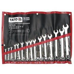 Klucze płasko-oczkowe, satynowe kpl 6-27, 15 cz. Yato YT-0065 - ZYSKAJ RABAT 30 ZŁ
