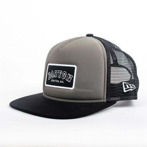Nakrycia głowy i czapki, czapka z daszkiem NEW ERA - 950 Emblem Foam Snap BOSRED (GRHBLK) rozmiar: S/M