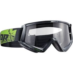 THOR GOGLE CONQUER OFFROAD GUNMETAL/GREEN =$