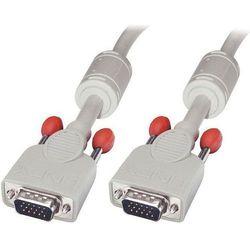 Kabel LINDY D-Sub - D-Sub 10m Biały (36346)