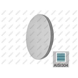 Zaślepka poręczy do wspawania AISI304, D50/t4mm