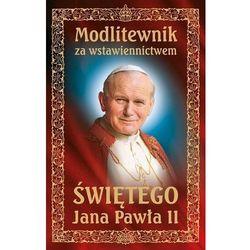 Modlitewnik za wstawiennictwem Świętego Jana Pawła II, okładka twarda