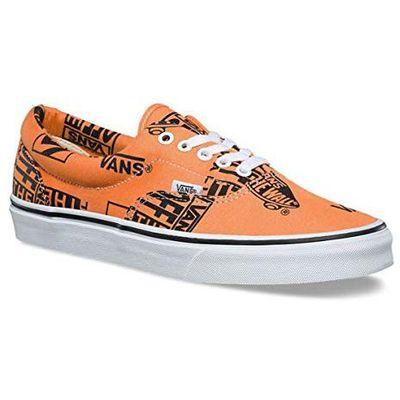 Vans Nowe buty era logo mix tangerineblack rozmiar 4227cm