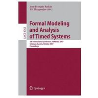 Informatyka, Formal Modeling and Analysis of Timed Systems 5th Internatio