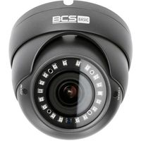 Kamery przemysłowe, BCS-B-DK42812 Kamera kopułowa 4MPx 4in1 Monitoring CVI TVI AHD CVBS obiektyw 2.8-12mm