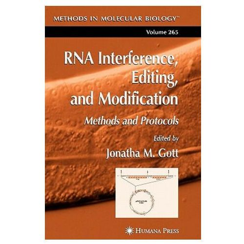 Książki medyczne, RNA Interference Editing and Modification (opr. miękka)