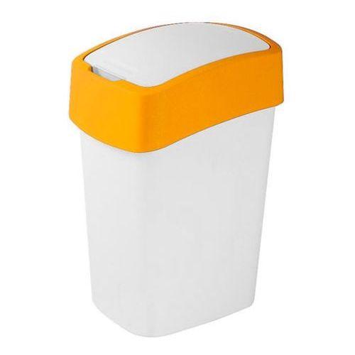 Kosze na śmieci, Kosz do segregacji śmieci FLIP BIN 25l pomarańczowy