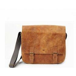 JAZZY WANTED 10 torba skóra naturalna firmy Daag na ramię unisex