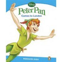 Książki do nauki języka, Peter Pan Comes To London Poziom 1 (200 Słów) (opr. miękka)