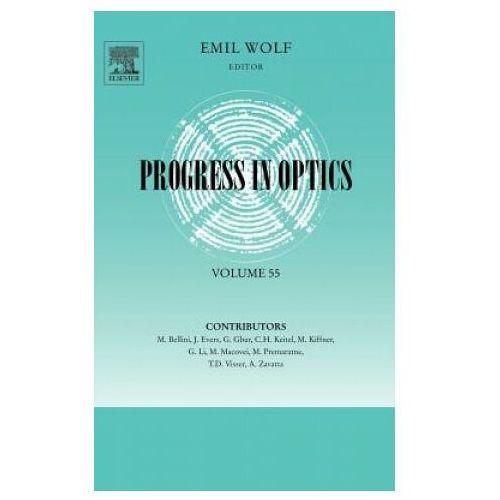 Książki do nauki języka, Progress in Optics: Volume 55 (opr. twarda)
