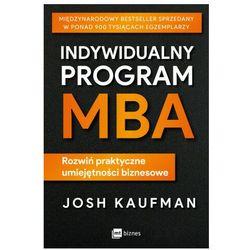 Indywidualny program mba. rozwiń praktyczne umiejętności biznesowe (opr. miękka)