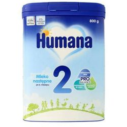 HUMANA 2 800g Mleko następne dla niemowląt Od 6. miesiąca życia