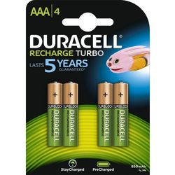 4 x akumulatorki Duracell Stays Charged Duralock R03 AAA 850 mAh (blister)