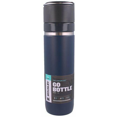Śniadaniówki i bidony, Butelka termiczna Stanley CeramiVac GO Bottle.7L Navy (10-09098-008)