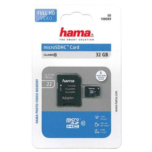 Karty pamięci, Karta pamięci HAMA microSD 32GB