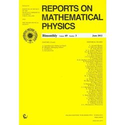 Reports on Mathematical Physics 52/3/2003 wersja krajowa (opr. miękka)